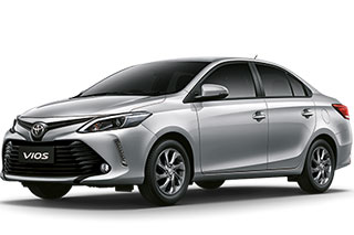 Toyota Vios New Model. Automatic gear