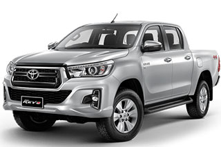 ISuzu Dmax with canopy